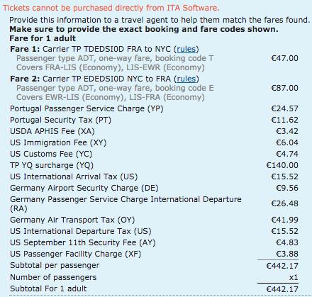 Bild: Wie setzt sich ein Flugpreis zusammen?